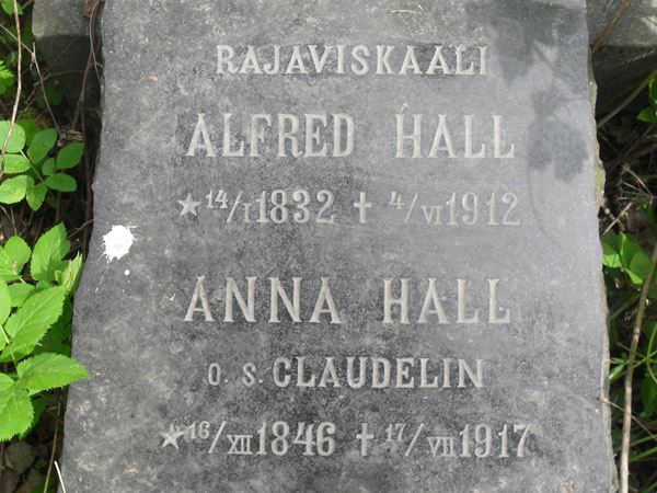 Hall Alfred Anna